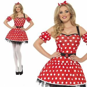 Fairytale Fever Red Riding Hood Storybook Ladies Fancy Dress Costume UK 8-18