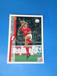 SUTTER-HELVETIA-SWITZERLAND-Carte-Card-UPPER-DECK-USA-94-1994-panini