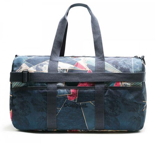 Desigual Dark Denim Gym Bag Sporttasche Umhängetasche Tasche Legion Blue