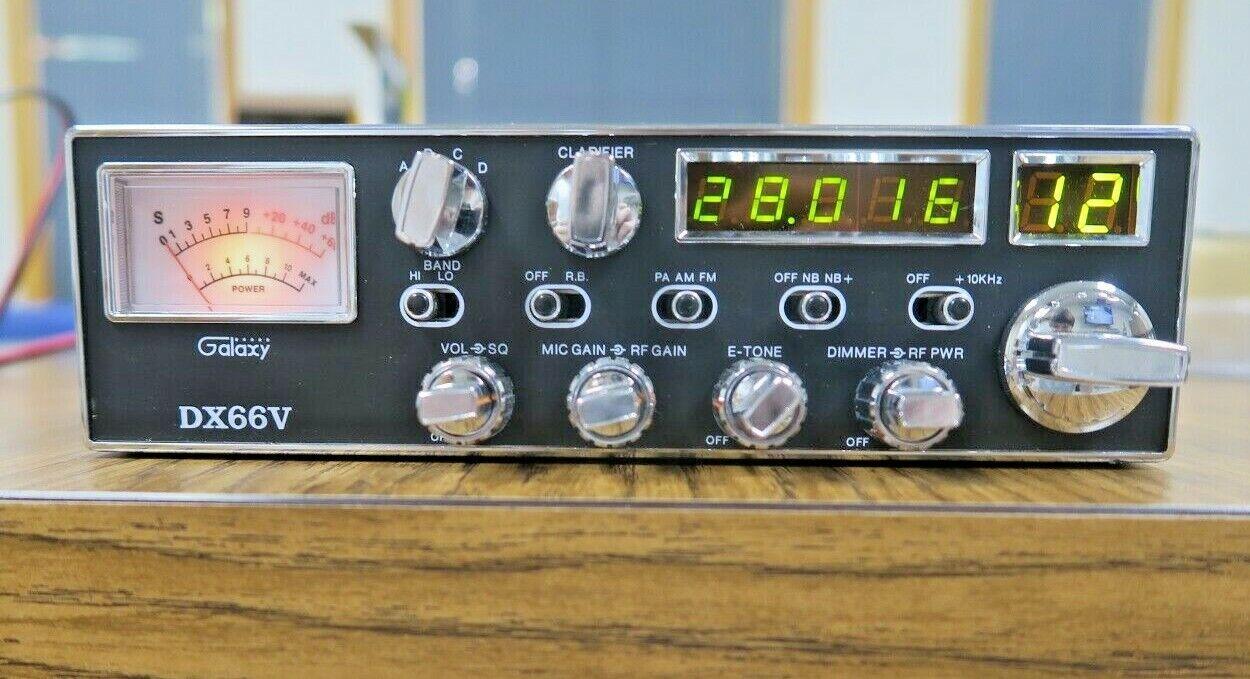 wholesalejim Vintage Galaxy DX66V CB Radio RADIO MIC In Original Box in Excellent Condition