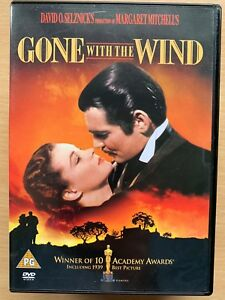 Gone-with-the-Wind-DVD-1939-Selznick-Western-Classic-w-Clark-Gable-Vivien-Leigh