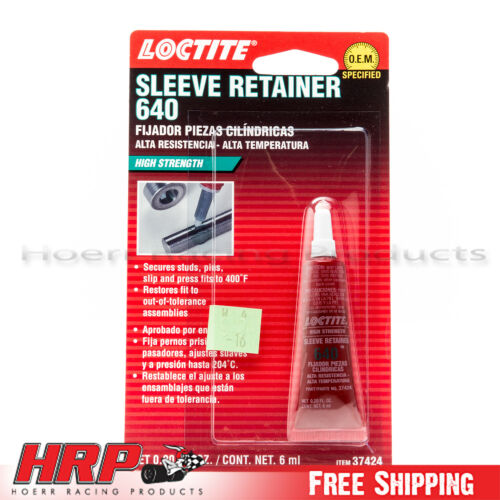 640 Loctite 37424 High Strength Sleeve Retainer