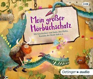 MEIN-GROsER-HORBUCHSCHATZ-VARIOUS-3-CD-NEW
