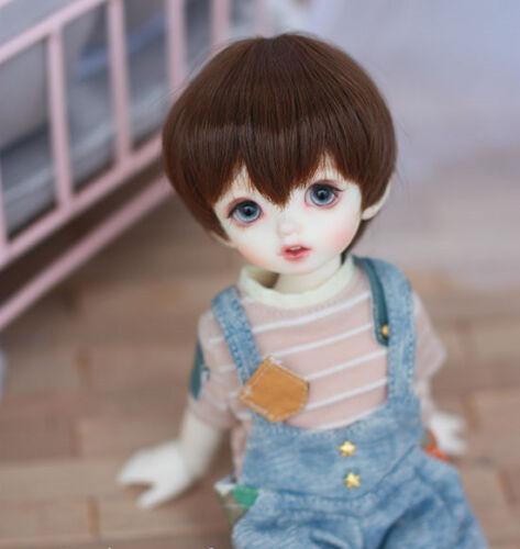 Doll wigs Imitation mohair Short hair for 1//8 1//6 1//4 1//3 BJD MDD doll wigs hair