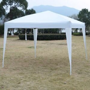 Image is loading 10x10-EZ-Pop-Up-Canopy-Tent-Instant-Shelter- & 10x10 EZ Pop Up Canopy Tent Instant Shelter Tent Beach Gazebo ...