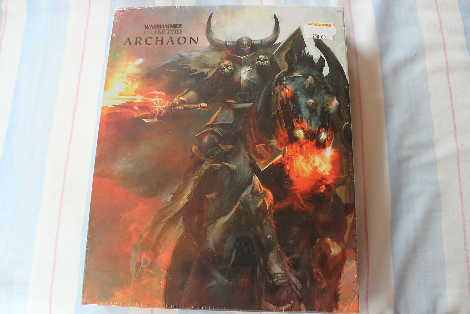 Games workshop warhammer archaon cartonnée books 1 & 2 the end times new sealed