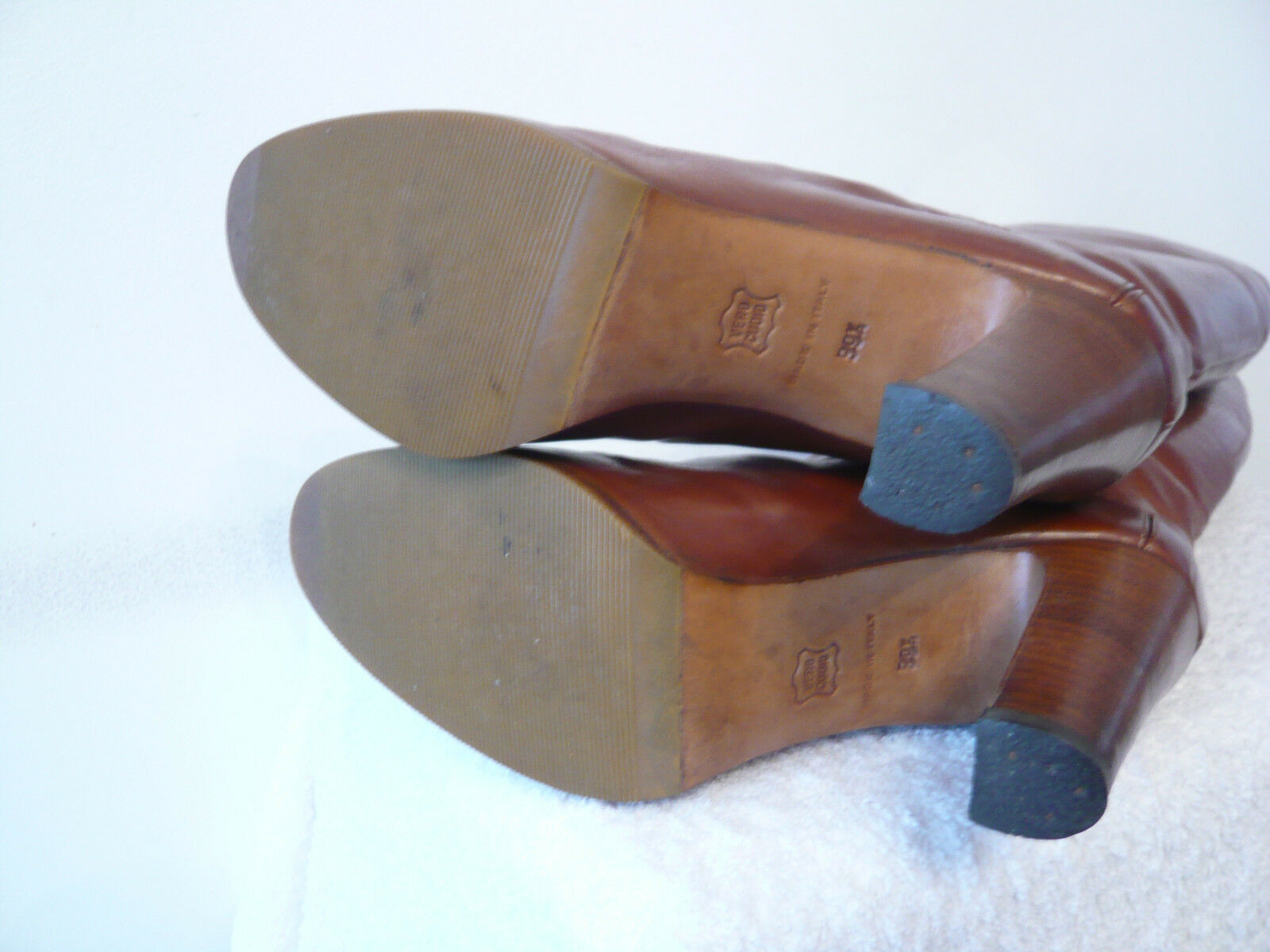 Stiefel vintage 1982  --- Gold  - BAILLY ---  T. 39 8d24b1