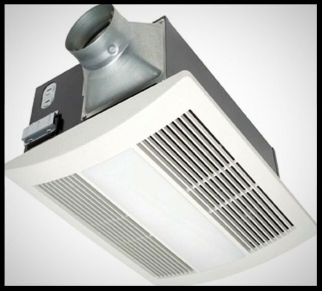 PANASONIC Bath Ceiling Exhaust Fan 100 cfm Light Kit ...