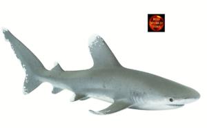 Oceanic Whitetip Shark Sealife Toy Model by Safari Ltd 100271 Brand New