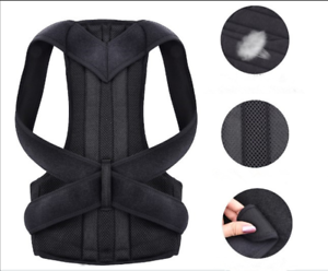 Posture-Corrector-Back-Shoulder-Support-Gear-Adjustable-Brace-Belt-Accessories
