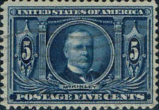 #326  1904 5 CENT LOUISIANA PURCHASE EXPO ISSUE USED-VF/XF--LITE CANCEL