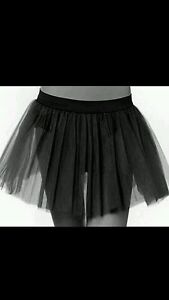 Black tutu skirt fancy costumes cyber rave emo christmas
