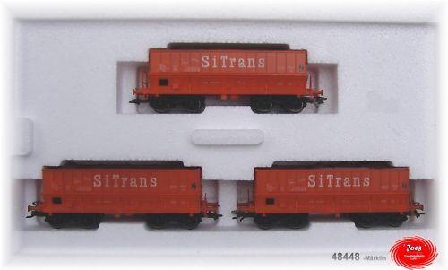 MÄRKLIN 48448 Wagen-Set  3 Erz-Transporter Erz-Transporter Erz-Transporter  SNCB  NEU   | Authentische Garantie  b1d01f