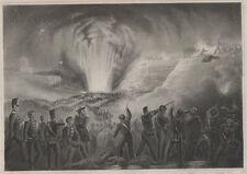 Storming of Badajoz.  Antique Print.  British Army Battle. pr.42
