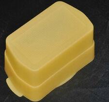 Yellow Flash Diffuser cover for Canon Flash 430EX 430EX II speedlite