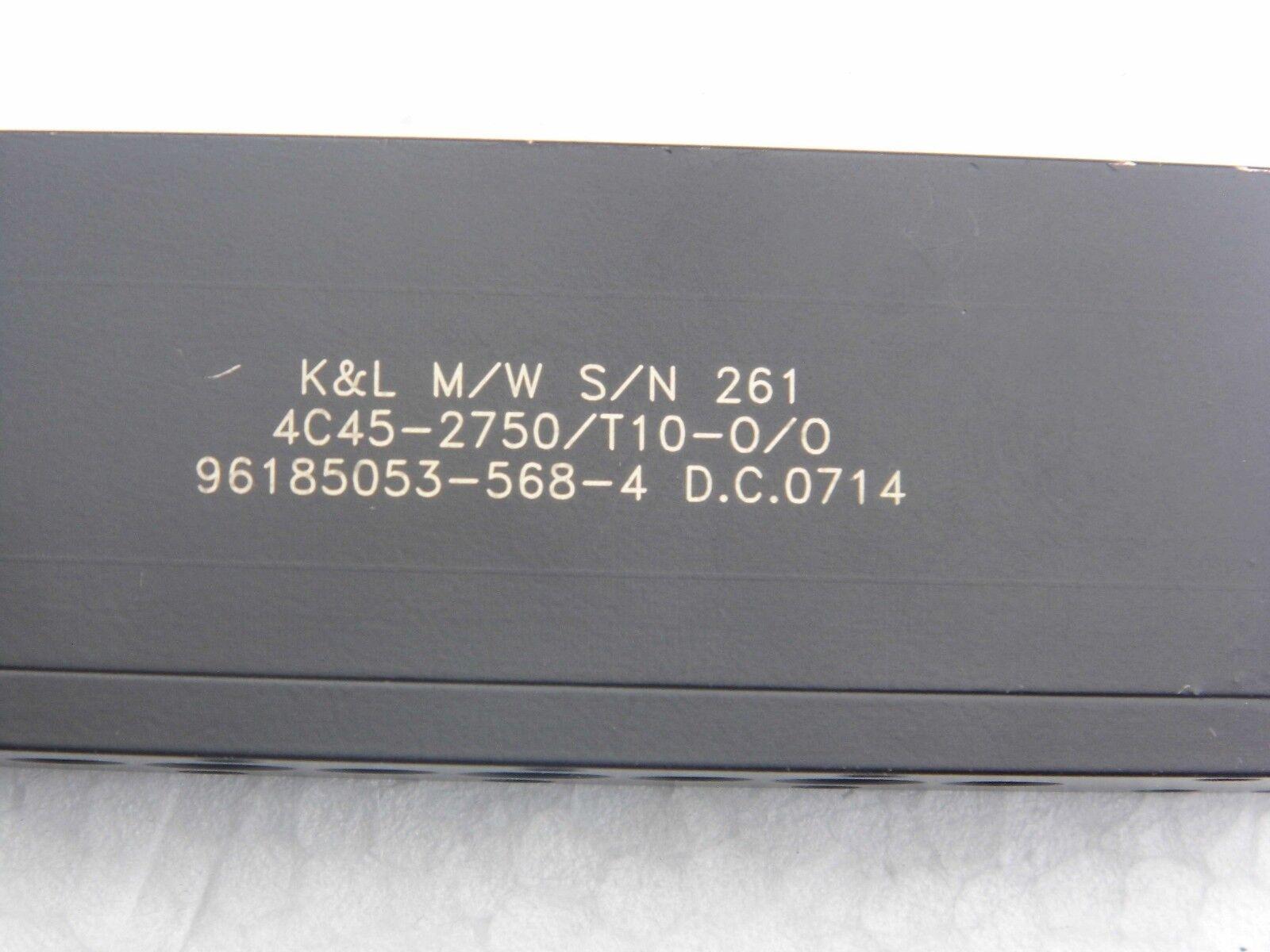 FILTER 2750MHZ K&L MICROWAVE REF.  4C45-2750 T10-O O 96185054-568-4