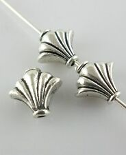 20pcs Ancient silver Shell Spacer Beads 4.5*9*10mm