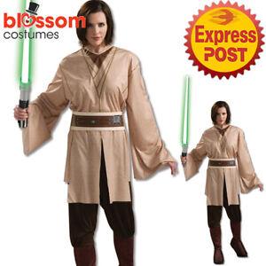 CA1327-Star-Wars-Jedi-Knight-Womens-Fancy-Dress-Halloween-Party-Tunic-Costume