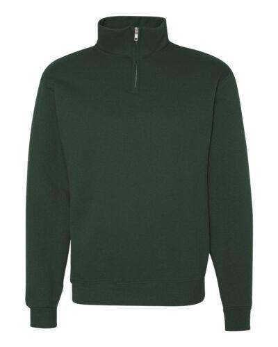 en 995 Quarter mr met 50 995m Jerzees kraag 50 heren sweatshirt S 3xl Fleece rits dIAOqq7w