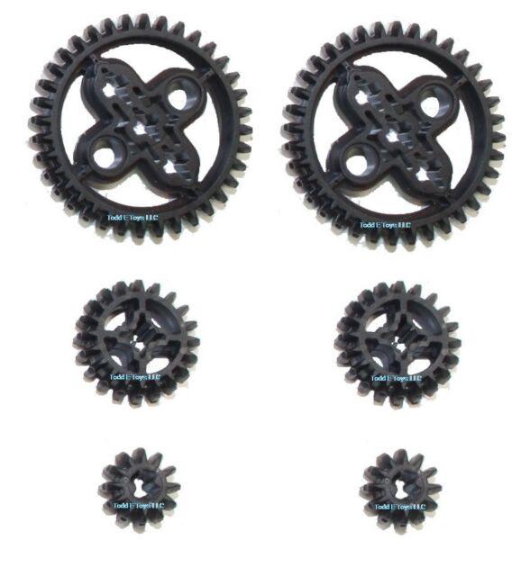 LEGO 50 pc gear axle SET Technic Mindstorms nxt ev3 motor power bevel pack