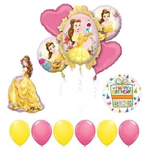 Beauty-and-The-Beast-Belle-Birthday-Party-Balloon-supplies-decorations