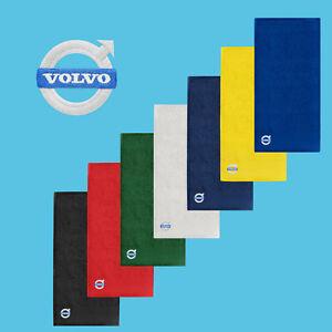 Volvo-Serviette-de-Bain-50x100-COTON-BRODE-Logo-Auto-Voiture-Mains-Doux-Douche