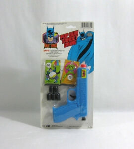 Nouveau 1988 Batman ✧ Pop Gun Target Game Vintage Dc Comics Moc