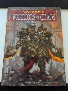 Warriors Of Chaos 8th Edition Army Book Warhammer Fantasy Ebay