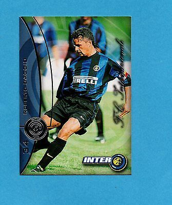 INTER CARDS 2000 numero 34 ROBERTO BAGGIO NEW | eBay
