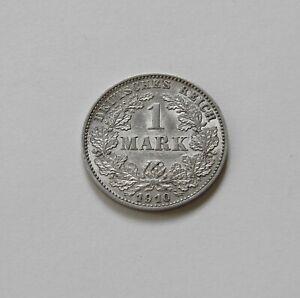 Imperio: 1 Marco 1910 G, J. 17 , Excelente /Recién Acuñado, Raro