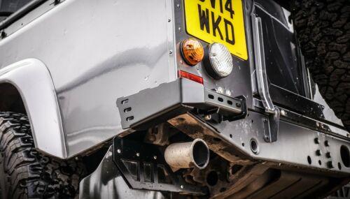 Land Rover Defender Acier Inoxydable Renegade Arrière bumperettes 110-Uproar 4x4