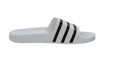 Herren adidas Adilette Weiße Sandalen BB0117