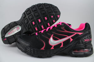 a9da0160043 NIKE AIR MAX TORCH 4 BLACK SILVER PINK FLASH HOT 90 95 1 RUNNING US ...