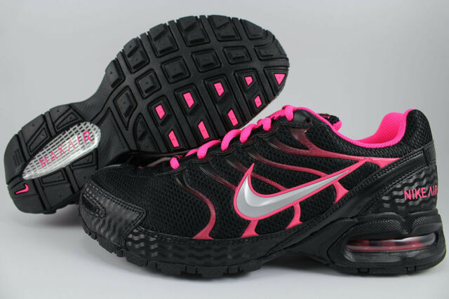 3bf76c719b9 Nike Womens Air Max Torch 4 Running Shoe Black pink US Size 8m for ...