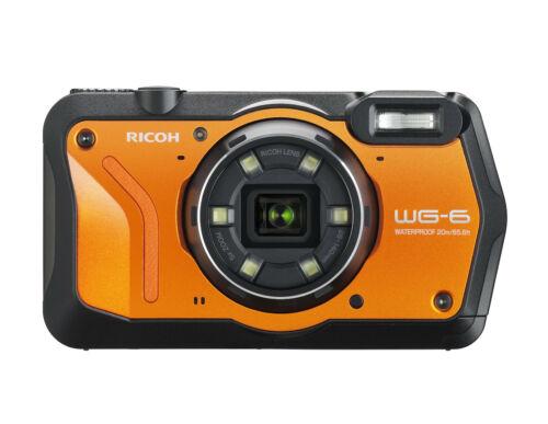 Ricoh wg-6 impermeable cámara digital B-Ware del distribuidor wg6 naranja