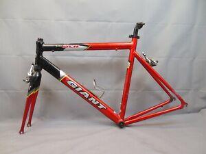Giant-OCR2-Road-Race-Bike-Frame-Large-Aero-Tri-Aluminium-Vintage-90s-USA-Charity