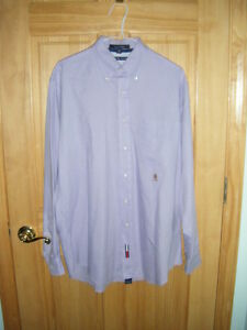 f3a891afd81a Details about Mens TOMMY HILFIGER Cotton Button LS ORIGINAL OXFORD Dress  Shirt Sz M 15 1/2