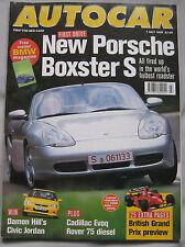 AUTOCAR 7/7/1999 featuring Seat, Porsche Boxster S, Cadillac, Rover