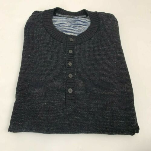 CHRISTOPHER FISCHER Space Dyed Sweater in Black XL