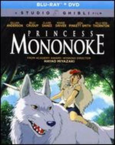 Princess Mononoke Blu Ray Dvd Studio Ghibli Disney For Sale Online Ebay