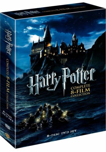 1 of 1 - Harry Potter: Complete 8-Film Collection (DVD, 2011, 8-Disc Set) - Brand New