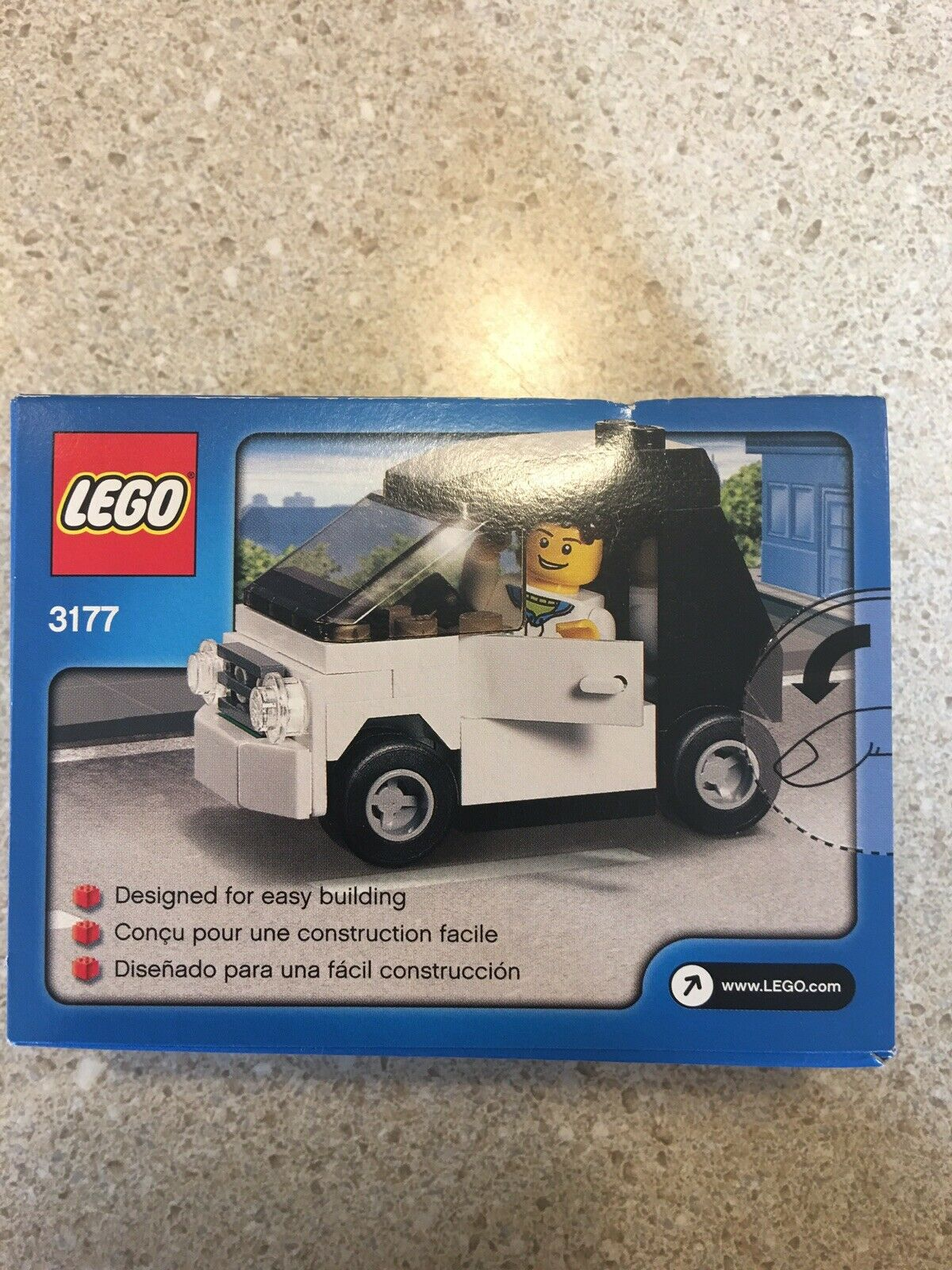 Lego Small Car 3177 New New New In Box 575123