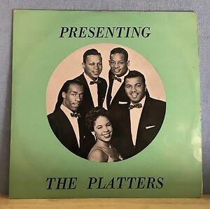 Los-Platters-presentando-Uk-Vinilo-Lp-Excelente-Estado