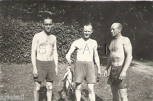 WWII-German-RP-Soldier-Semi-Nude-Gay-Interest-Fishing-Catch-of-the-Day-40s