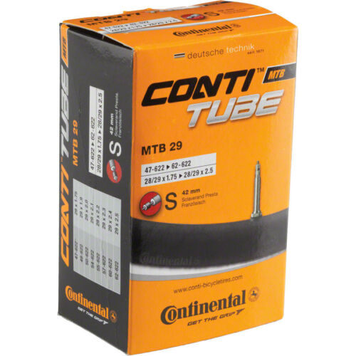 Continental MTB 29 Bike Tube 29 x 1.75-2.5 42mm Presta Black