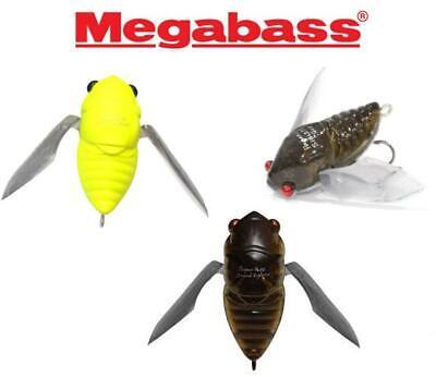 MEGABASS Grand Siglett Clear Chart 42mm 1//4 oz Topwater Cicada Bass Lure