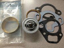 OEM Mercruiser V6 V8 Thermostat 140 degree Kit & Brass SLEEVE 23-47508T 807252Q3