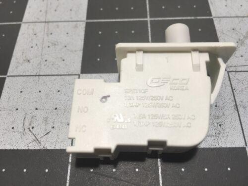 LG Kenmore Dryer Door Switch P# 6601EL3001A