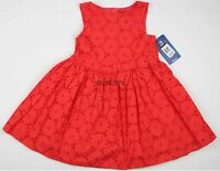 Baby Girl Dress Oshkosh B'gosh Holiday Portrait Sun Size Sz 4t Osh Kosh