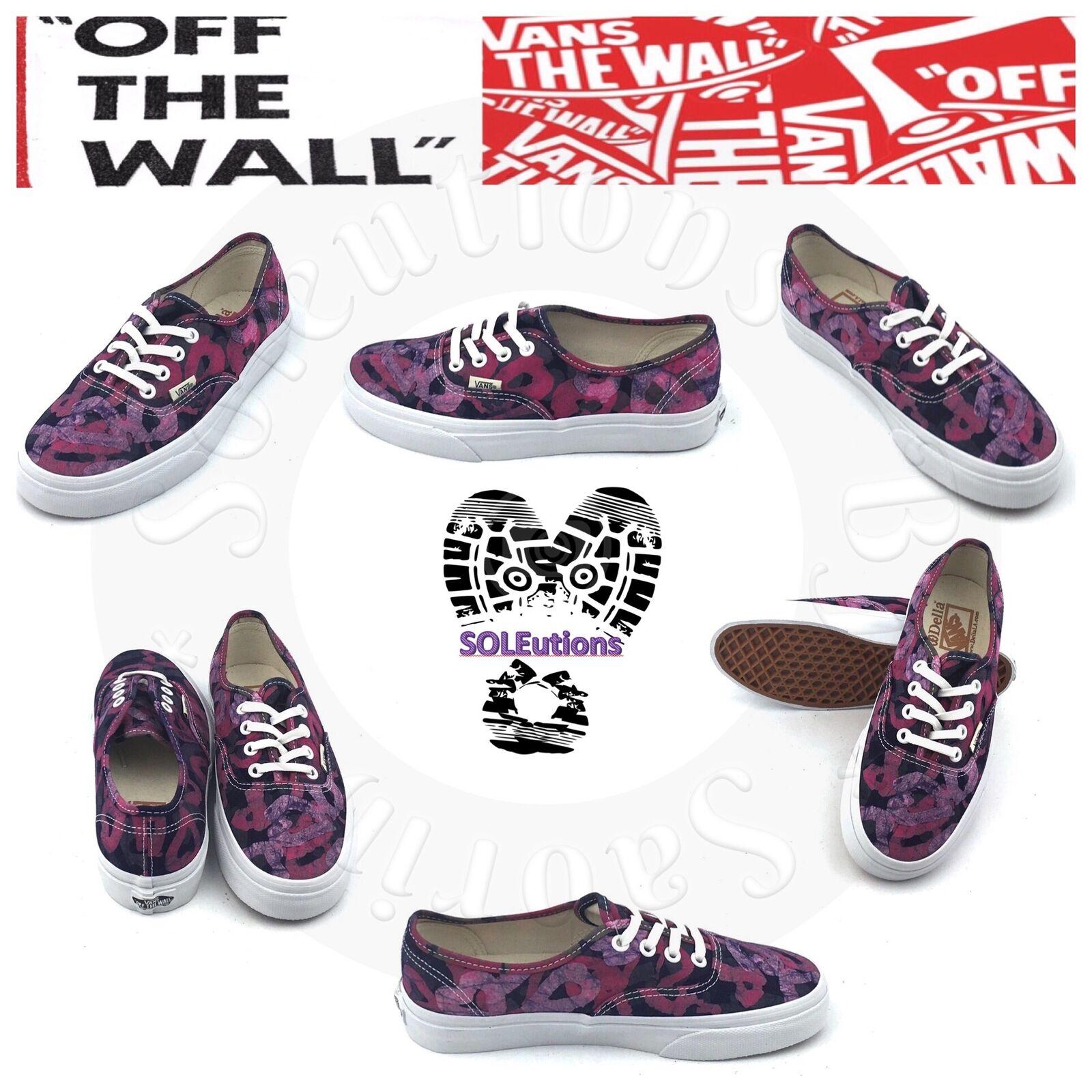 VANS Authentic Della Batik Pink W9